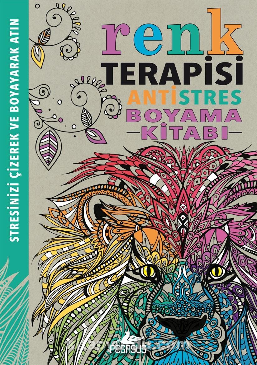 Renk Terapisi Antistres Boyama Kitabi Kitabini Indir Pdf Indir
